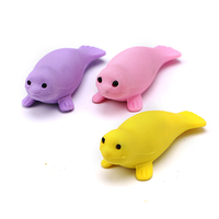 Factory price sea lion shape toy eraser