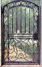 Custom courtyard single wrought iron small gate from Alibaba China supplier