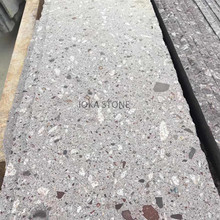 Multicolor building material Chinese purple grey polished granite tile and long slab
