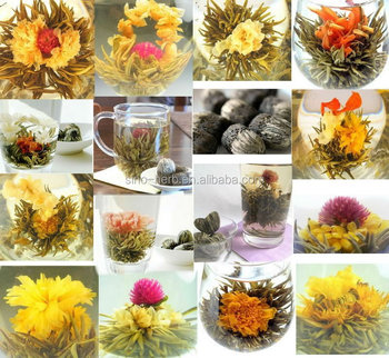 Free Sample Flower Blooming Tea Artistic Flowering Tea