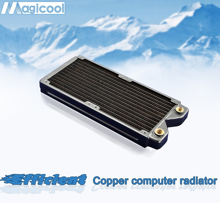 Best Quality Copper Radiator for computer ; 27mm thickness; 240mm length