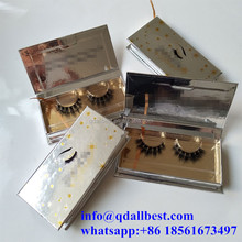 F41 Top Quality Private Label 3D Mink Lashes with Custom Eyelash Packaging