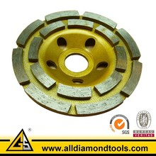 Double Row Diamond Grinding Discs for Concrete,Cup Wheels