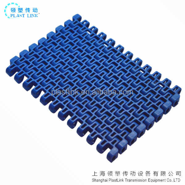 Straight flush grid plastic SNB M3 modular belt,7120 plastic conveyor belt pitch 12.7mm