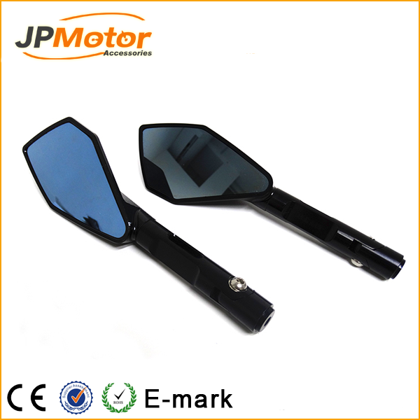 Motorcycle mirrors and mounting adapter ALL aluminum for YAMAHA YZF1000 R1 2002 2003 2004 2005 2006 2007 2008 rearview mirror