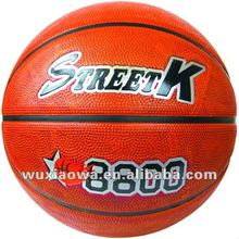 Classic sport basketball / basketball popular sport/ hot sales deep channel rubber basketball(GRB013)