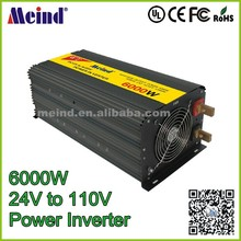Meind 6000w inverter dc 24v to ac 110v modified sine wave inverter 1000w 2000w 3000w 4000w 5000w 6000w inverter for solar system