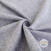 100%Polyester grey linen look cheap fancy imitation curtains fabric for curtains
