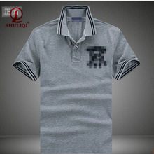 100% cotton fashion Mens poloshirt and fatory price made in china