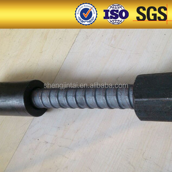 high strength psb no-rib left hand solid steel full thread screw bar/bolt/rod