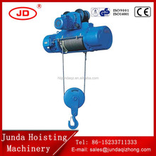 25 ton drywall lift hoist rope crane electric elevator wire rope hoist