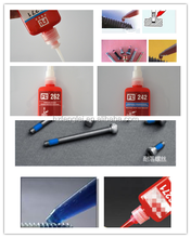 China manufacturer one componenet anaerobic adhesive ,flange sealant , Anaerobic drill pipe threadlocker 10ml/50ml/250ml