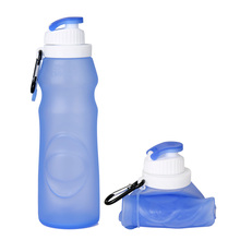 Eco-friendly Flexible Food Grade Silicone Water Infuser Bottle