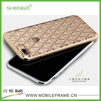 SHENGO Hot Selling Wholesale Luxury Crystal Diamond TPU Mobile Phone Case for iphone4 4s