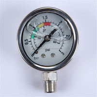 Durable Light Weight Easy To Read Clear refrigeration low pressure gauge