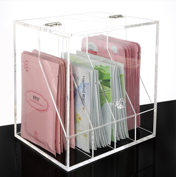 Clear Customized Transparent Acrylic Makeup Cosmetics Organizer