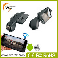 2016 Newest iphone&android wifi connection supported Hidden manual car camera hd dvr 1080p for all cars