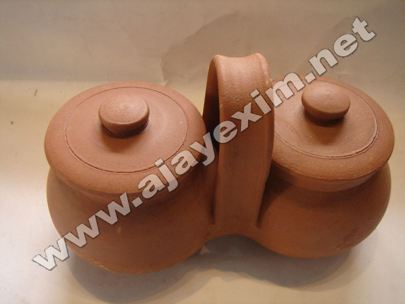 Clay Pickle Pot