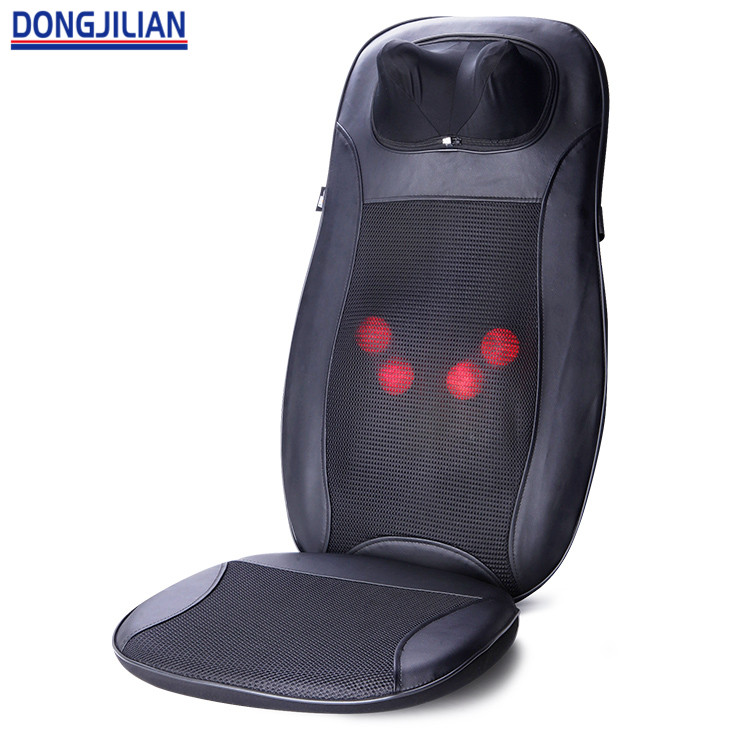 Auto Back Massage Car And Home Seat Kneading Seat Massage Cushion