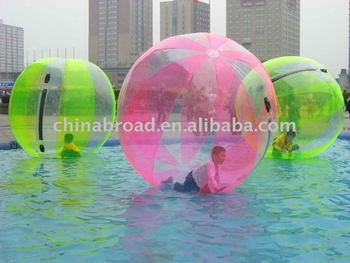 2011 hot-selling color water moving ball(Durable PVC material)