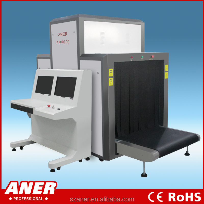 baggage scanner machine x-ray security checking,x ray baggage scanning machine for airports,subway,railway,jail K100100