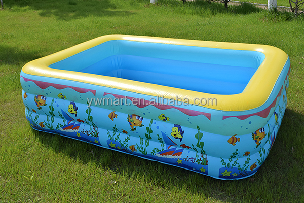 Best selling kids plastic swimming pool hard plastic for Pool plastik