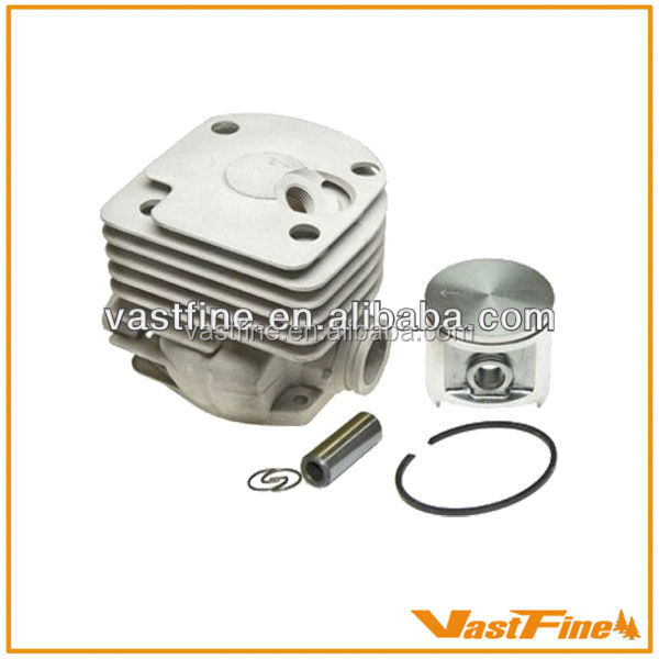 Best-selling chinese chainsaw parts Cylinder Piston fit chainsaw HU 372 50mm cylinder