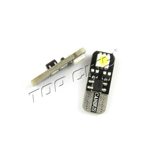 T10 501 W5W CAR SIDE LIGHT BULBS ERROR FREE CANBUS,2 Xenon White SMD Projector 168 194 2825 LED Bulbs,T10-2SMD-5050-CANBUS-NE