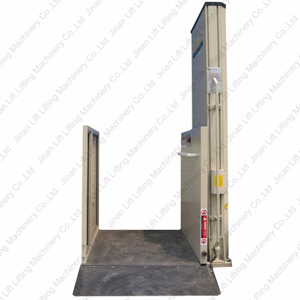 Hydraulic man indoor disabled elevator lift for home for Indoor elevator