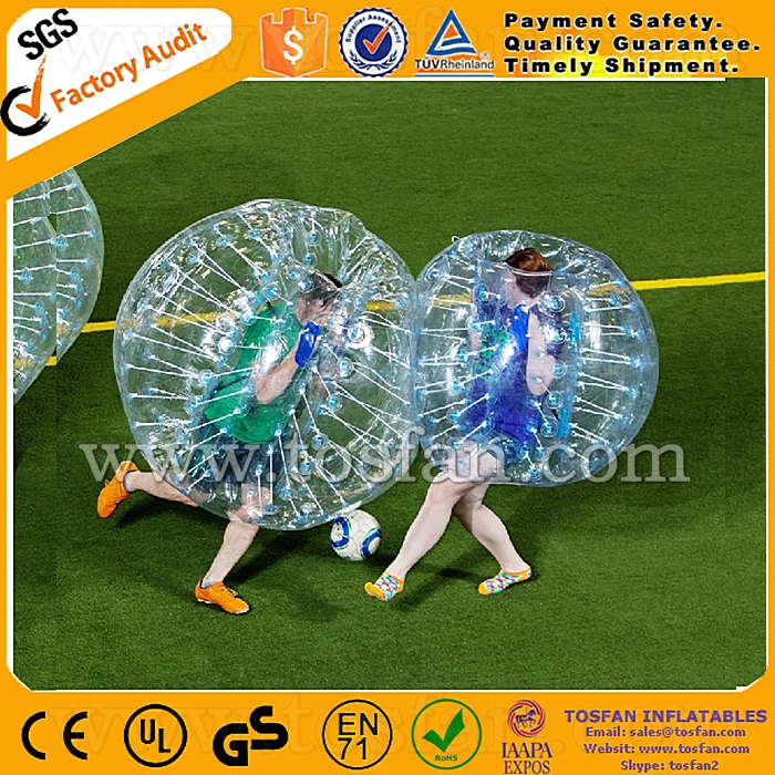 Factory direct sale human hamster ball inflatable loopy ball TB188