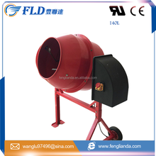 China Mobile Preformed Portable Diesel Foam Concrete Beton Pan Mixer Factory