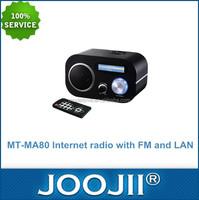 Worldwide LAN FM MP3 WMA AAC Wifi Radio Receiver Internet Radio