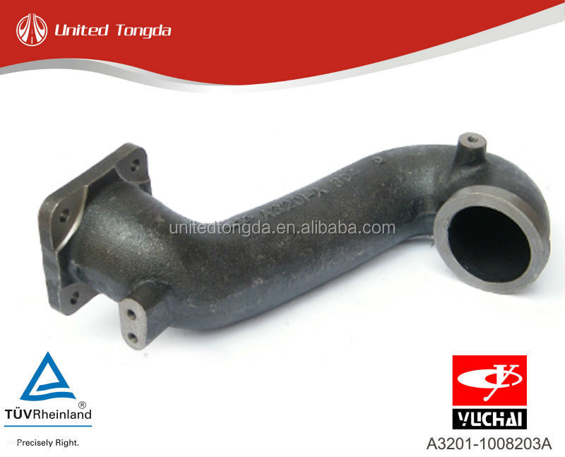YUCHAI engine YC6A After the turbine exhaust pipe A3201-1008203A