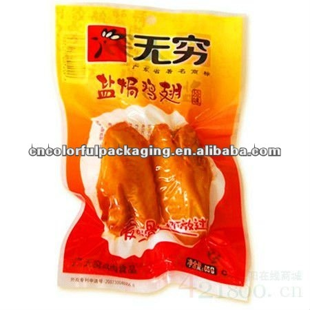 Chicken feets Vacuum PA Plastic Packaging bags