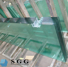 Excellence quality Cut to size of custom tempered glass