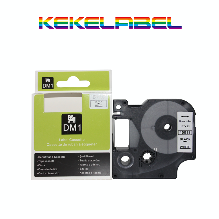 Compatible Dymo label tape dymo D1 45013 for p touch typewriter