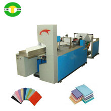 Disposable PE coated paper dental napkin pad making machine