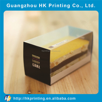 Clear Window Plastic Slice Cake Box