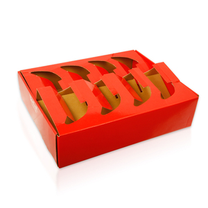 cardboard fruit and vegetable packaging tray box