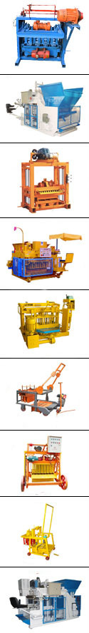 Big type egg laying concrete block machine, QMY10-15 fully automatic concrete block making machine