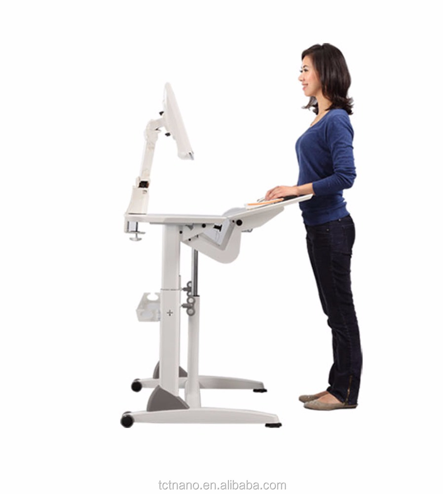 TCT workstation G3-L height adjustable , tilt-able Computer desk