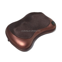 SHIATSU KNEADING BACK NECK FULL BODY MASSAGER CUSHION PILLOW WITH HEATED THERAPY
