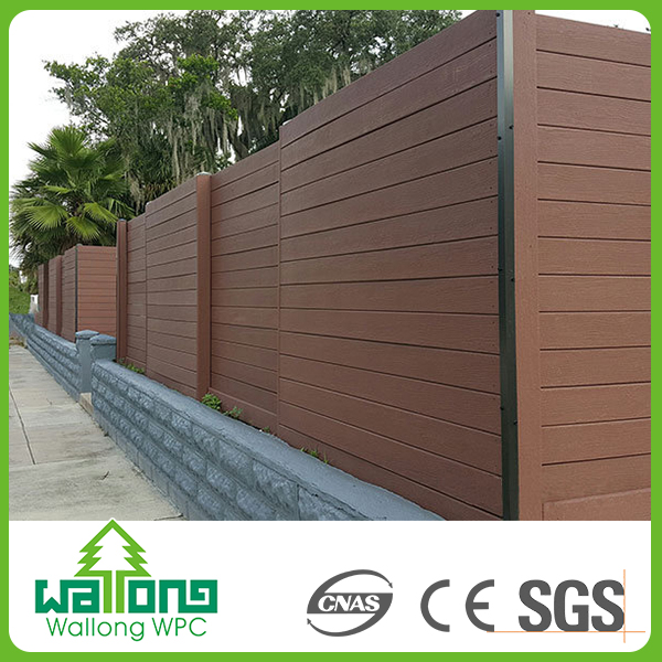 Long lifetime termite resistance hollow wpc composite wood wall cladding decking panel board