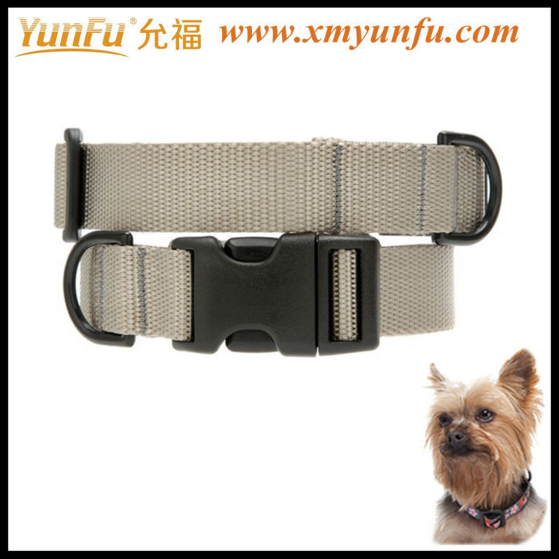 Factory Price Nylon Colorful Metal Buckle Printed dog lead
