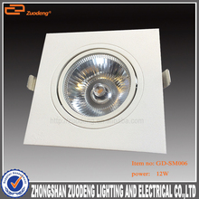 2 3 4 wires stage used Warm White led multiple recessed downlight