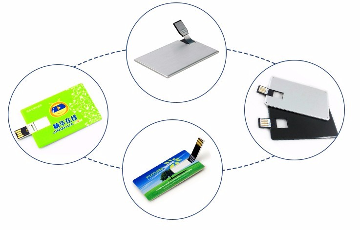 Promotion Gift Plasic Metal Card Usb Flash Drive