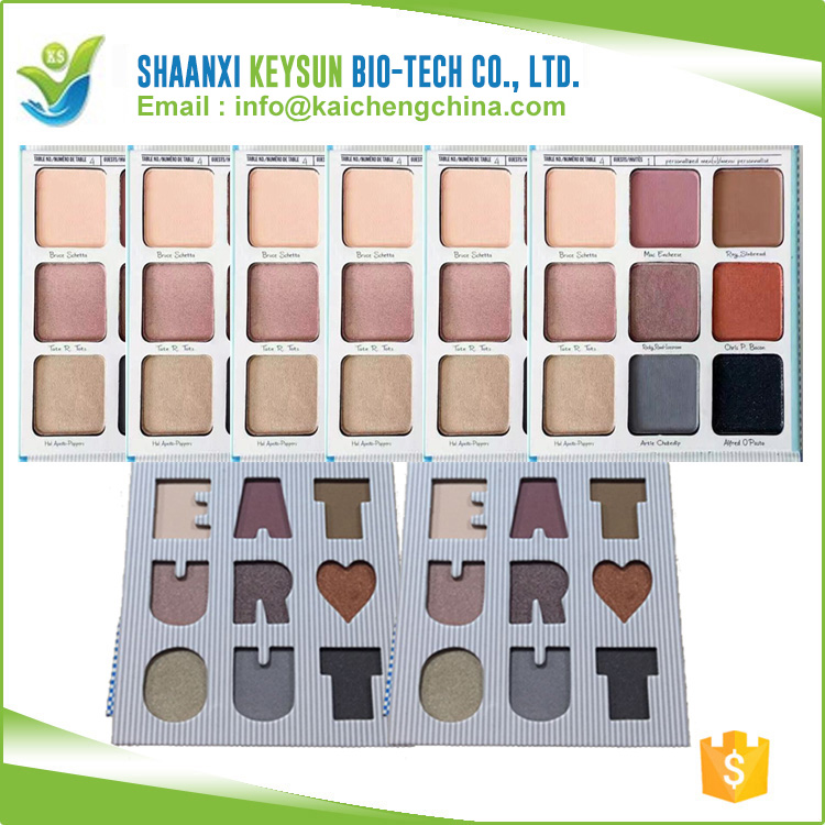 Fashion Flower Mulit Color Eye Shadow Palette