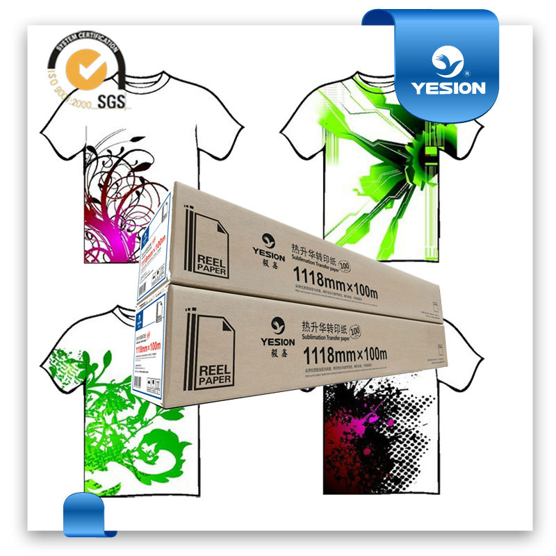 Directly sell!sublimation t shirts/heat transfer paper wholesale