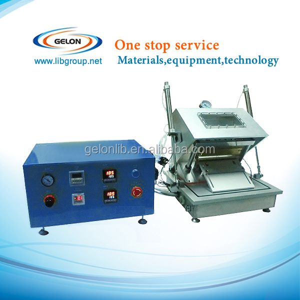 Compact Vacuum Sealer for Preparing Pouch Cell With Optional Top/Side Sealing