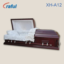American Style Funeral Casket Coffin for sale(XH-A12)adult coffin